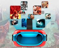 10 VR Box Head Mont Plastic VR Réalité Virtuelle Lunettes BT Wifi RK3126 1 Go / 8 Go Android 5.1 mobile 3D Cinema tout-en-un 3D Movie Game Glasses