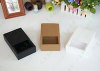 Wholesale Cardboard Tea Box - Gift Drawer Paper Box Craft Jewel Macaroon Cookies Tea Packing Cardboard Boxes 10*10*5cm Free Shipping