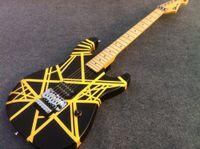 Wholesale Guitar Strips - GOOD SOUND Eddie Van Halen Signature Guitar guitar with black and yellow strip