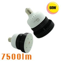 Wholesale Free Hps Lights - Free Shipping 250W Metal Halide HPS Replacement 60W LED Retrofit Parking Lot Light 180 Degree E39 Retrofit High Bay Round Light