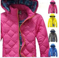 Wholesale Ladies Leisure Shorts - New Sports Leisure Hooded Brought Unginned Slim Waist Cotton Cotton-Padded Womens Lady Coat jacket Outwear