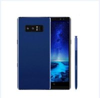 Wholesale Heart Rate Video - ERQIYU goophone note8 Note7 edge curved Octa Core MTK6592 64bit 3GB RAM 64GB ROM 4G LTE 6.2inch Android 7.0 smartphone