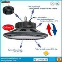 Wholesale Super Ufo Free Shipping - Competitive price and Super Bright LED highbay light 240W 130Lm W IP65 waterproof DHL Fedex free shipping UFO LED high bay lamp