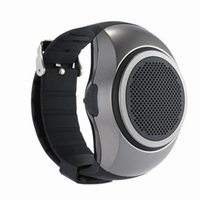 Wholesale Mp3 Phone Watches - B20 Bluetooth Speaker Watch Surper Bass Outdoor Speakers Wrist Bracelete Support TF Card Built-in Mic Sport Outdoor Hands Free