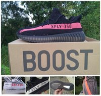 Wholesale Coopers Shoes - SPLY boost 350 V2 kanye west Beluga 2.0 Cream white Copper Black Red Bred Zebra Black Red Cooper Running shoes