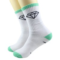 Wholesale Cheap White Knee Socks - Wholesale-socks men basketball funny sport brand 100cotton printed black red fashion novelty mens football white harajuku women cheap sock