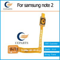 Wholesale Galaxy Note Flex Cable - Power Button On Off Switch Flex Cable Parts For Samsung Galaxy Note 2 T889 VA029 W0.5