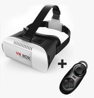 Wholesale vr box online - WYJ Head Mount Plastic VR BOX VR Virtual Reality Glasses D Movie for