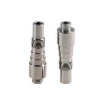 Wholesale E Cigarette Udct - Flyskytech Stainless Steel Long 510 Drip Tips rich color mouthpiece for Nova UDCT Glass Protank E cigarette atomizer
