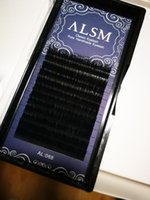 Wholesale Fine Hair Extensions - 0.05 fine eyelashes Extensions 0.5 to 1.5 LONG Fake Eyelashes Planting natural extension Tray Planting Eyelashes