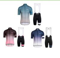 nuevo rapha jersey al por mayor-Nueva rapha pro cycling jersey 2017 transpirable de secado rápido bicicleta maillot ropa ciclismo MTB bicicleta conjunto de ropa