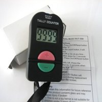 Wholesale Digital Hand Tally - Hand Held Electronic Digital Tally Counter Clicker Security Sports Gym School