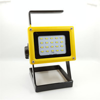 Wholesale New LED Floodlight W beads light Cordless outdoor LED Flood Light Spot Portable LED Work Light Lamps
