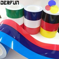 Wholesale Decorative Flag Wholesaler - BMW E46 Tricolor Waterproof 0.15m*25.00m BMW National Flag Three Color Bar Car Body Decorative Vinyl film Wrapping Sticker