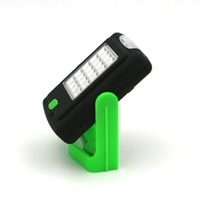 Wholesale Hook Magnet Led Flashlight - LED Night Light Flashlight LED Torch Lantern Work Light 23 Portable LED Lights Camping Bicycle Lamp with Built-in Magnet Hook