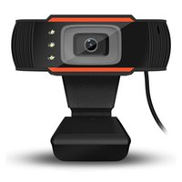 Videocamera per PC TV Webcam HD Computer Video Record USB 2.0 Web Camera con MIC di assorbimento per Mac Laptop