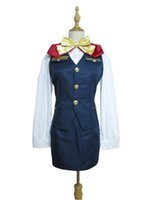 Wholesale women stewardess costume for sale - Group buy Uta no Prince sama Shining Airlines Tomochika Shibuya Stewardess Cosplay Costume