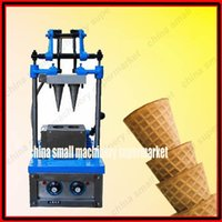 Wholesale Making Machinery - Commercial manual double head ice cream cone machinery manufacturer Cone Ice Cream Shaper_Ice Cream Cone making Machine