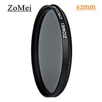 Wholesale Wholesale Circular Polarizing Filter Lens - Professional Circular Polarizing Filters Zomei 62mm CPL Polarizer Filter Avoid Bright Filtro for Canon 700D Nikon Sony Camera Lens