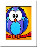 ölgemälde tiere abstrakt großhandel-Freies Verschiffen 100 handgemachte Tiermalereien auf Segeltuch-Pop-bunter Wand Kunst für Wand-Dekor-moderne abstrakte Vogelölfarben