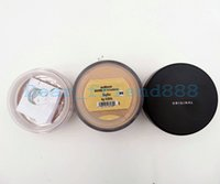 Wholesale Original Makeup - 1PCS New Loose Powder Bare Minerals Original SPF15 Foundation Makeup 9 colors 6 8 9g ePacket or China Register Air Mail Post FreeShipping