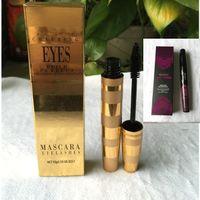 Wholesale charming eyelashes for sale - Group buy Famous Brand Waterproof Mascara Eyelashes Curls Lashes Black Volume Mascara Length Effect M Makeup Charming Eyes Build Perfect Cosmetics
