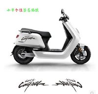 Wholesale Flower Car Stickers - a27 Motorcycle motorcycle general stickers calf modification pull flower personalized electric car stickers