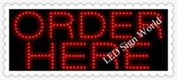 Wholesale 2016 new style ORDER HERE LED signs free custom lighting LED signs