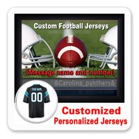 Wholesale Game Cams - Custom Personalized Jerseys Mens Womens Youth 59 Luke Kuechly 1 Cam Newton Carolina Game Elite Cheap Panther Jersey 4XL 5XL