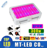 Wholesale Grow Panel 3w - fast ship High Cost-effective 300W LED Grow Light 100pcs * 3W 100 LEDs garden downlight Hydroponic LED Grow Lamp lights Panel lighting