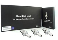 Wholesale Protank Replacement Wicks - Kanger protank 3 coils aerotank T3D replacement coils with 2.0ohm 1.8ohm 1.5ohm long wicks for kangertech mini protank 3 atomizer