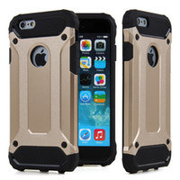 Wholesale Aluminum Steel Iphone Case - Luxury Metal MobilePhone Case Transformers Shockproof Aluminum Steel Hard Protection Cover Cellphone Case for iPhone 6 6s Plus