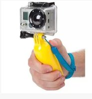 Wholesale Gopro Floaty - New! Gopro Accessories PP Material Bobber Floating Handheld Monopod Stick Floaty Grib w  Wrist Strap for Go pro Hero3+ Hero2 3