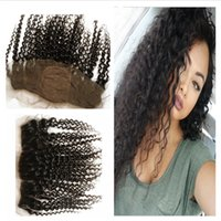 Free Middle Three Parte Base de seda Lace Frontal 8-24
