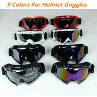 Sports de plein air Cool Adulte Moto Sports de protection Off Road Oculos Motocross brille Lunettes de sport ATV Lunettes pour moto Dirt Bike