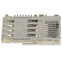 Wholesale New G3 - Wholesale-New Sim Card Holder Memory Reader Slot Flex Cable Parts For LG G3 VAG66 P