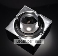 Wholesale Luxury Ashtrays - home supplies high quality Luxury square ashtray of light free shipping