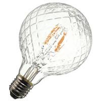 antika antik ampuller toptan satış-E27 G95 4 W Ananas Ultra Parlak COB LED Vintage Antik Edison Filament Ampul Işık Lambası Sıcak Beyaz 400 Lümen Dim AC85-265V