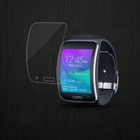 kristallklare schirmschutz galaxie großhandel-6 stücke Kristallklare Displayschutzfolie Schutzfolie Für Samsung für Galaxy Gear S Drop Shipping Großhandel