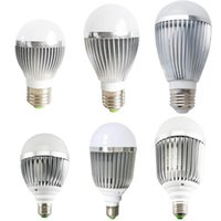 Warm Pure White E27 Bulb Led Light 3W 5W 7W 9W Super Bright 110V 220V Globe Lamps Non-Dimmable Замена флуоресцентных галогенных ламп Cfl