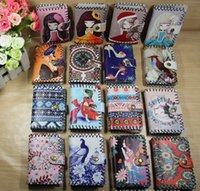 Wholesale Korean Silk Short Dress - New cartoon manual ms student card package National wind certificate package Leather cabinet wallet