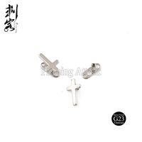 Wholesale Titanium Dermal Anchors - 2016 New Style Free Shipping G23 Titanium Internally Threaded Cross Dermal Anchor Tops Piercing Jewelry