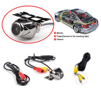 Wholesale Guided Wire - 2016 Special Offer Limited Car Camera 1 A Brand-new Wire Waterproof Car Rear View Reverse Backup Parking Camera Cmos Guide Line Alloy Kit