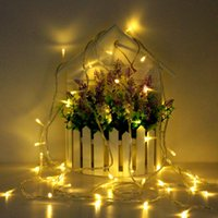 LED String Lights USB 5V / Battery Box / EU 220V Party Garden Home Natale Decorazione Luci natalizie Outdoor Indoor