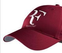Wholesale Federer Racket - new 2016 Limited edition newest men and women Roger Federer RF Hybrid Hat   tennis racket hat cap tennis racquet