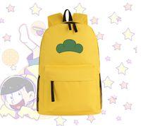 Wholesale Japanese Anime Backpacks - Wholesale-6 color Osomatsu-san Matsuno Ichimatsu Hoodie Hoody Cosplay costume japanese anime school canvas bag messager backpack