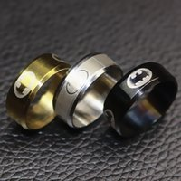 Wholesale 316l Wedding Band - High Polish 316L Stainless Steel Batman Ring for Men Top Grade Jewelry Accessories 2016 New Arrival Superhero Series Rings