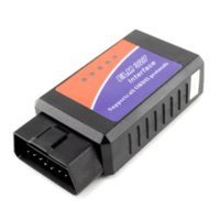 Wholesale Mp4 Codes - ELM 327 1.5V Interface Bluetooth OBD2 OBD-II Auto Car Diagnostic Scanner Free Shipping Cheap car mp4 player software