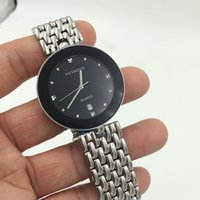 Wholesale Mesh Watches - The new round mesh belt paragraphs male female high quality stainless steel quartz waterproof lovers fashion watch