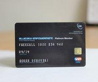 tarjetas de visita completas al por mayor-Tarjetas de visita del personal del PVC de la tarjeta de visita plástica de encargo a todo color de las dos caras que imprimen